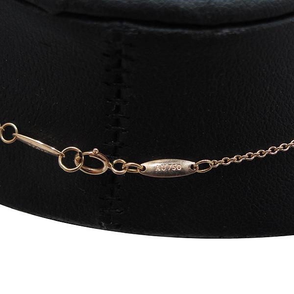 Tiffany(티파니) 18K(750) 옐로우 골드 Elsa Peretti(엘사퍼레티) 오픈 하트 목걸이 [인천점] 이미지5 - 고이비토 중고명품