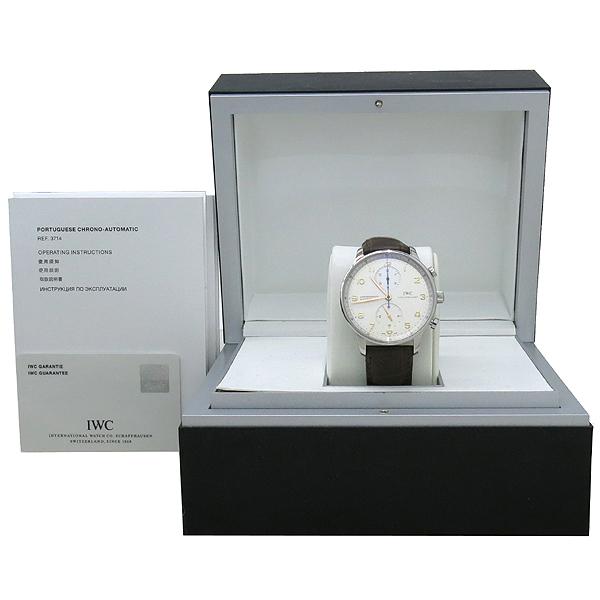 IWC(아이더블유씨) IW3714 Portuguese(포르투기스) 골드핸즈 오토매틱 크로노그래프 남성용 시계 [대구동성로점]