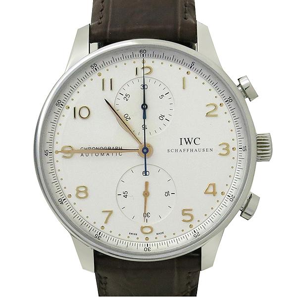 IWC(아이더블유씨) IW371401 Portuguese(포르투기스) 골드핸즈 오토매틱 크로노그래프 남성용 시계 [대구동성로점] 이미지2 - 고이비토 중고명품