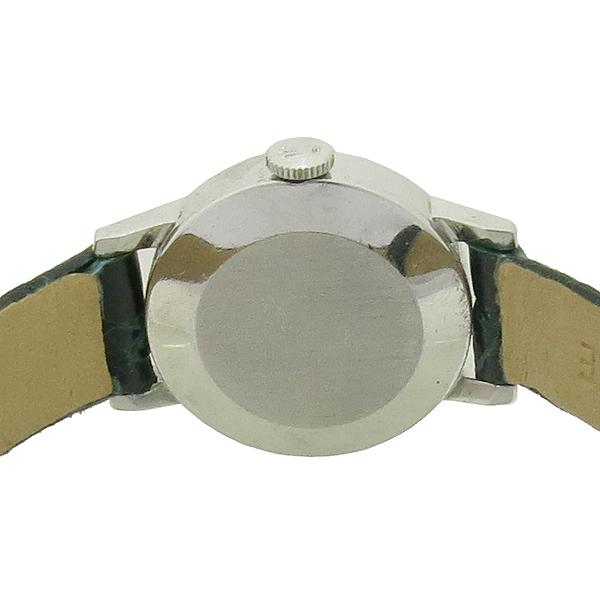 Rolex(로렉스) 엔틱 precision 스틸 라운드 메뉴얼 수동방식 그린컬러 악어가죽 밴드 여성용시계 [강남본점] 이미지5 - 고이비토 중고명품