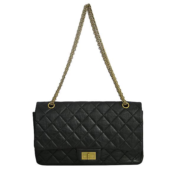 Chanel(샤넬) A37590Y04634 빈티지 블랙 2.55 L사이즈 금장 체인 숄더백 [동대문점] 이미지2 - 고이비토 중고명품