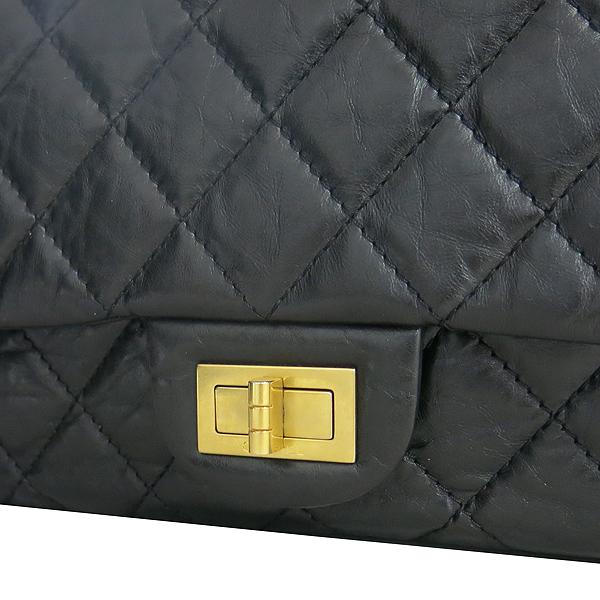 Chanel(샤넬) A37590Y04634 빈티지 블랙 2.55 L사이즈 금장 체인 숄더백 [동대문점] 이미지4 - 고이비토 중고명품