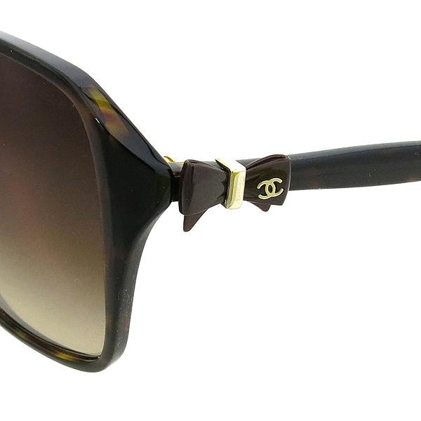 Chanel(샤넬) 5205 측면 리본장식 뿔테 선글라스 [강남본점]