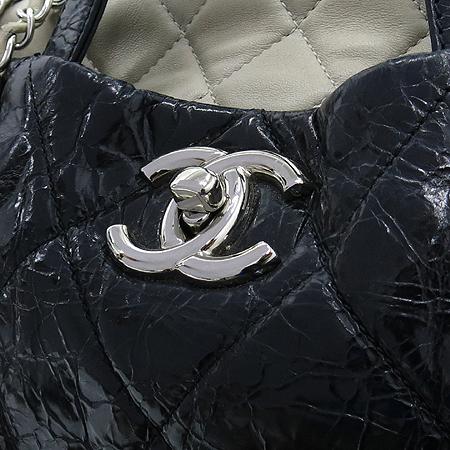 Chanel(샤넬) A47138Y06146 빈티지 블랙 퀼팅 포르투 벨로 은장 체인 2WAY [부산센텀본점] 이미지3 - 고이비토 중고명품