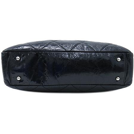 Chanel(샤넬) A47138Y06146 빈티지 블랙 퀼팅 포르투 벨로 은장 체인 2WAY [부산센텀본점] 이미지6 - 고이비토 중고명품