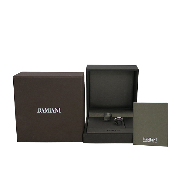 DAMIANI(다미아니) 20053414 18K 화이트골드 D-SIDE (디사이드) 10포인트 다이아 반지-9호 [동대문점]