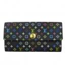 Louis Vuitton(루이비통) M93747 모노그램 멀티 컬러 블랙 사라 월릿 장지갑 [동대문점]
