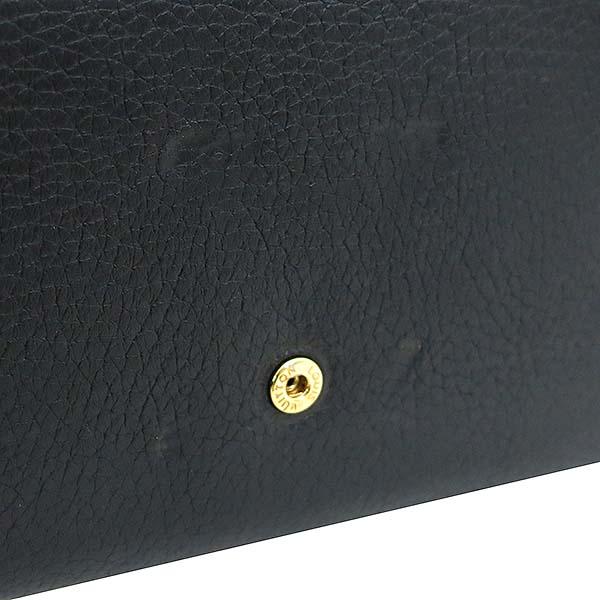 Louis Vuitton(루이비통) M61248 토뤼옹 블랙 Noir LV 시그니처  카푸신(카퓌신) 월릿 장지갑 [부산센텀본점] 이미지4 - 고이비토 중고명품
