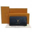 Louis Vuitton(루이비통) M61248 토뤼옹 블랙 Noir LV 시그니처  카푸신(카퓌신) 월릿 장지갑 [부산센텀본점]