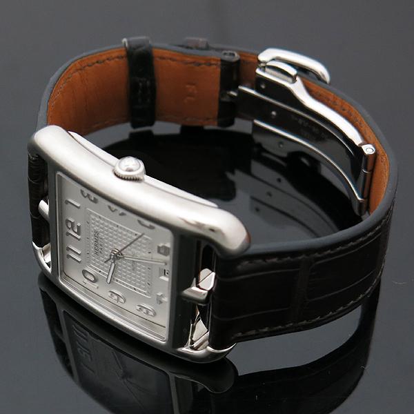 Hermes(에르메스) 신형 CD7.810 CAPE COD(케이프코드) 데이트 엘리게이터 밴드 스켈레톤 남성용 오토매틱 시계 [인천점] 이미지3 - 고이비토 중고명품