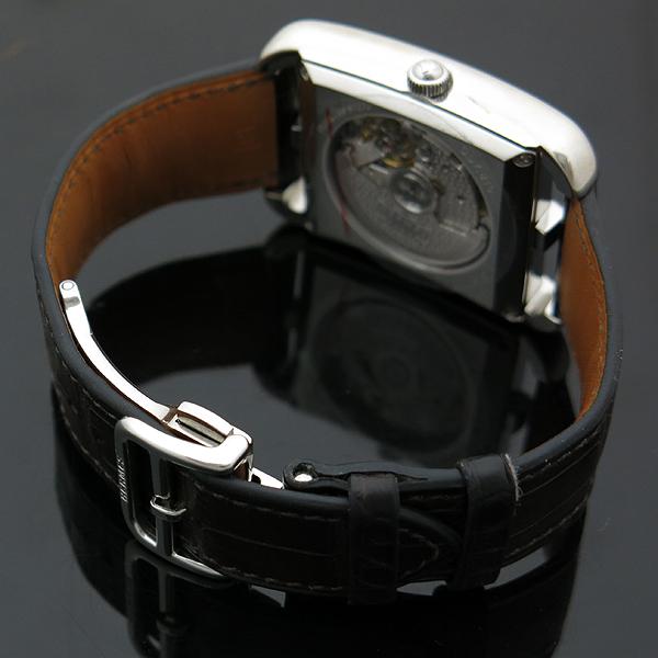 Hermes(에르메스) 신형 CD7.810 CAPE COD(케이프코드) 데이트 엘리게이터 밴드 스켈레톤 남성용 오토매틱 시계 [인천점] 이미지4 - 고이비토 중고명품