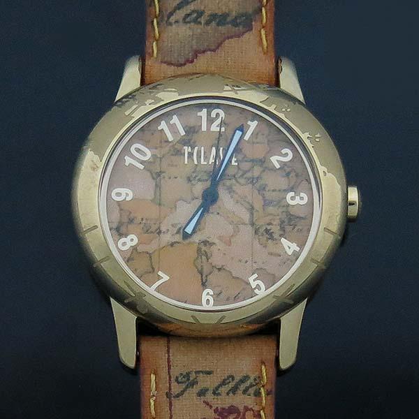 ALVIERO MARTINI(알비에로 마르티니) 금장 라운드 쿼츠 여성용 시계 [부산센텀본점]