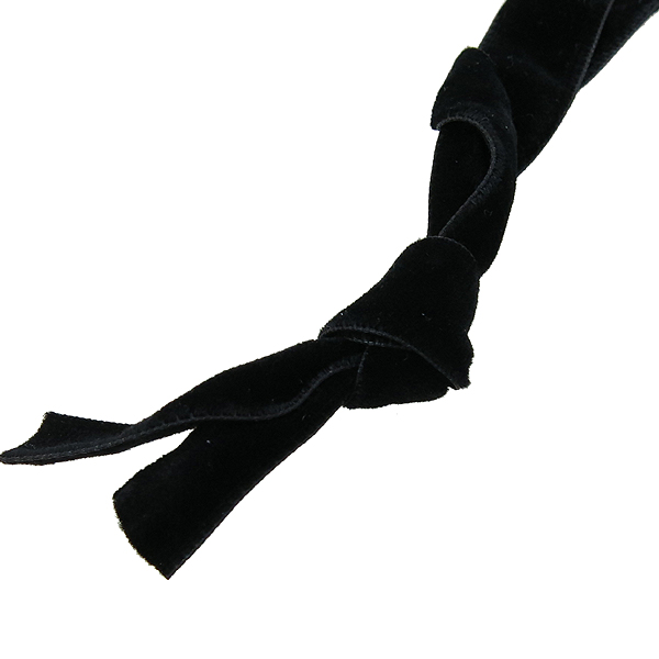 Swarovski(스와로브스키) 리본 장식 벨벳 팔찌 겸 목걸이 [강남본점] 이미지4 - 고이비토 중고명품