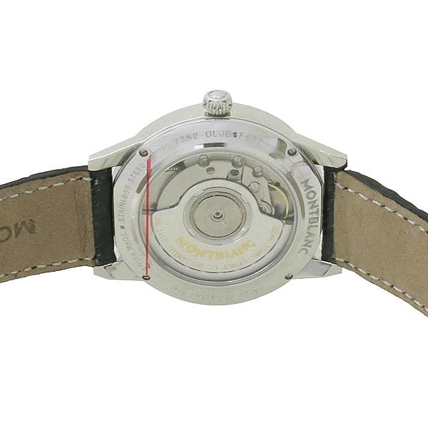 Montblanc(몽블랑) 114730 BOHEME DAY&NIGHT 문페이즈 10포인트 다이아 오토매틱 가죽밴드 여성용 시계 [강남본점] 이미지4 - 고이비토 중고명품