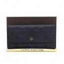 Louis Vuitton(루이비통) M60294 모노그램 앙프렝뜨 버츄어스 AUDE 퍼플 장지갑 [부산센텀본점]