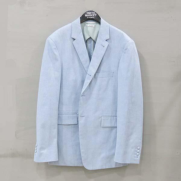 THOM BROWNE(톰브라운) 16SS MJU185A 100% 면 스카이블루 컬러 남성용 자켓 [부산센텀본점]