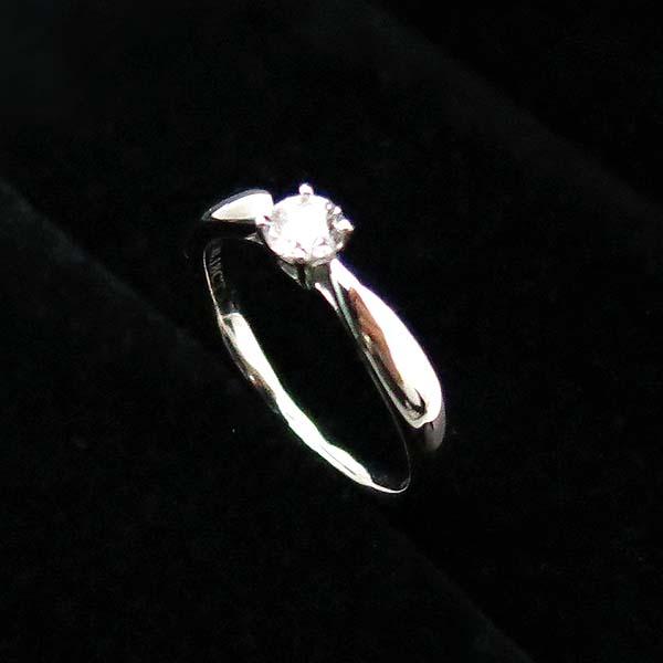 Tiffany(티파니) PT950(플레티늄) 하모니 1 포인트 0.18CT VVS1 G컬러 다이아 여성용 웨딩반지 - 6.5호 [부산센텀본점] 이미지2 - 고이비토 중고명품