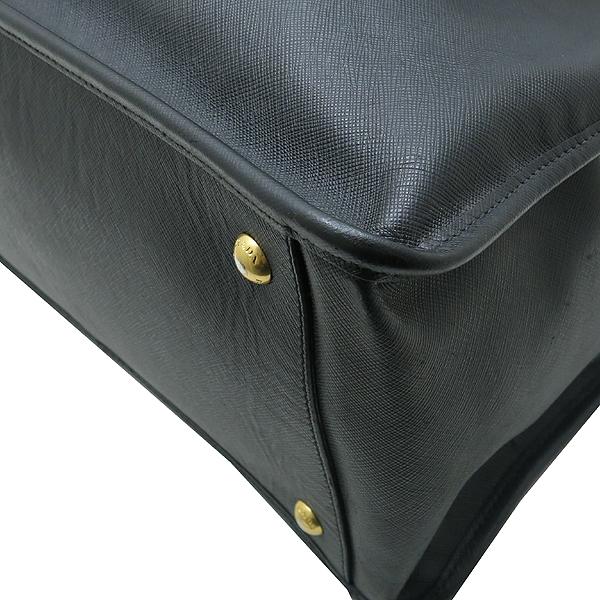 Prada(프라다) 블랙 사피아노 측면 삼각 로고 장식 2WAY [인천점] 이미지4 - 고이비토 중고명품
