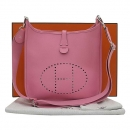 Hermes(에르메스) 핑크 컬러 EPSOM(앱송) 레더 에블린 PM 29 사이즈 크로스백 [부산센텀본점]