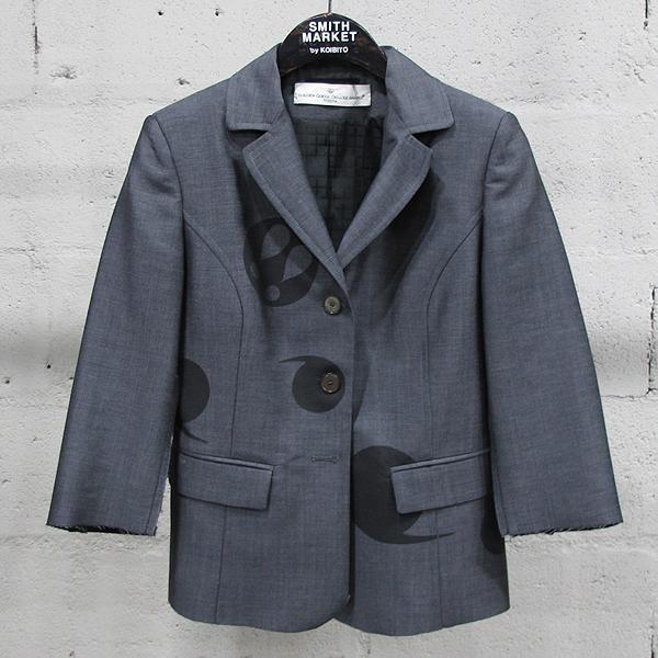 Golden Goose(골든구스) 15SS 모헤어 혼방 그레이 컬러 여성용 프린팅 자켓 [동대문점]