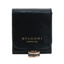 Bvlgari(불가리) AN855962 18K 핑크 골드 블랙 세라믹 B-ZERO1(비제로원) 2링 반지 10호 [부산센텀본점]