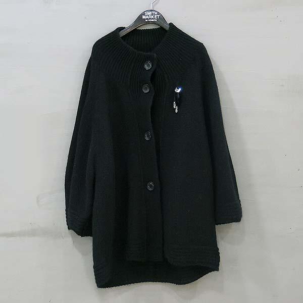 CESARE PACIOTTI(체사레 파치오티) 모헤어 혼방 블랙 컬러 니트 자켓 [부산센텀본점]
