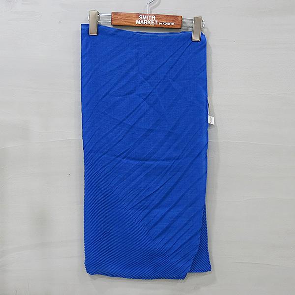COLOMBO(콜롬보) 캐시미어 혼방 블루 스커트 [부산센텀본점]