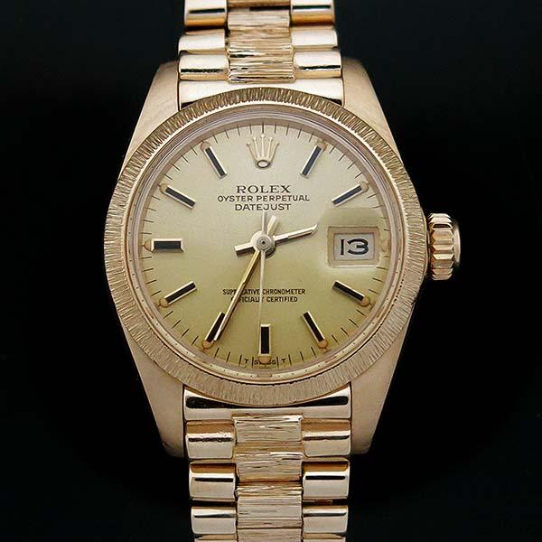 Rolex(로렉스) 6927 DATEJUST(데이저스트) 18K 골드 금통 운모 여성용 시계 [부산센텀본점]