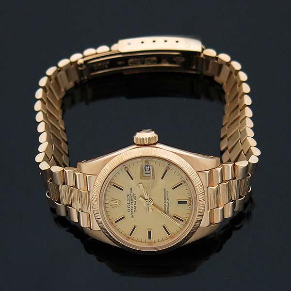 Rolex(로렉스) 6927 DATEJUST(데이저스트) 18K 골드 금통 운모 여성용 시계 [부산센텀본점] 이미지2 - 고이비토 중고명품