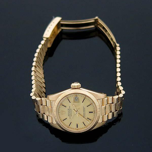 Rolex(로렉스) 6927 DATEJUST(데이저스트) 18K 골드 금통 운모 여성용 시계 [부산센텀본점] 이미지3 - 고이비토 중고명품