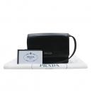 Prada(프라다) BT1035 블랙 나파 레더 고프레 미니 크로스백 [인천점]