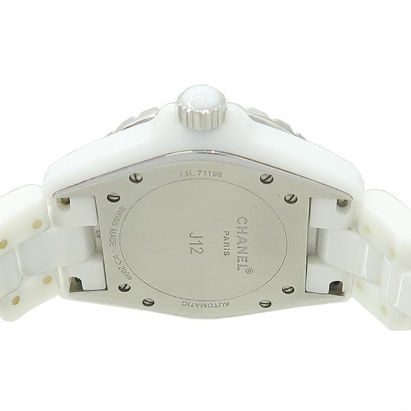 Chanel(샤넬) H0969 J12 38MM 베젤 다이아 오토매틱 화이트 세라믹 오토매틱 시계 [강남본점] 이미지4 - 고이비토 중고명품