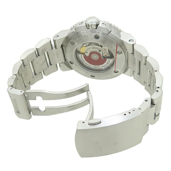 ORIS(오리스) 773 7653 41 DATE AQUIS(데이트 아퀴스) 스켈레톤 오토매틱 스틸 남성용 시계 [강남본점] 이미지3 - 고이비토 중고명품