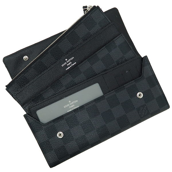 Louis Vuitton(루이비통) N63084 다미에 그라피트 캔버스 어저스터블 월릿 장지갑 [강남본점] 이미지2 - 고이비토 중고명품