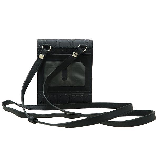Ferragamo(페라가모) 22 4697 간치니 패턴 블랙 레더 지갑 겸 목걸이 [강남본점] 이미지2 - 고이비토 중고명품