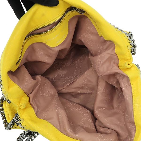 STELLA McCARTNEY (스텔라 맥카트니) 옐로우 컬러 스웨이드 팔라벨라 체인 숄더백 [강남본점] 이미지5 - 고이비토 중고명품