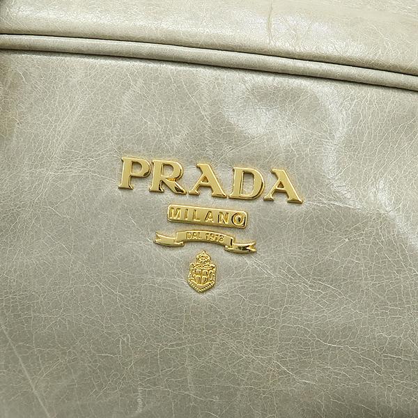 Prada(프라다) BL0821 NUBE 컬러 VITELLO SHINE(비텔로 샤인) 토트백 + 숄더스트랩 [강남본점] 이미지4 - 고이비토 중고명품