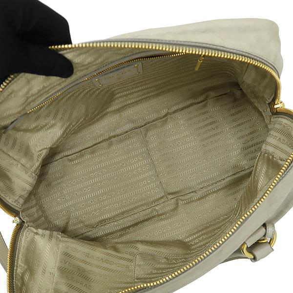 Prada(프라다) BL0821 NUBE 컬러 VITELLO SHINE(비텔로 샤인) 토트백 + 숄더스트랩 [강남본점] 이미지6 - 고이비토 중고명품