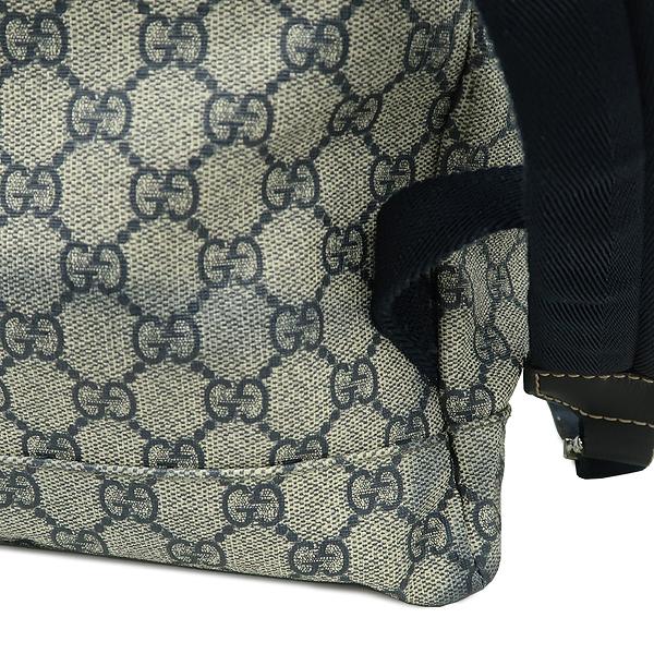 Gucci(구찌) 246898 GG로고 PVC 다크블루 트리밍 원 포켓 백팩 [강남본점] 이미지4 - 고이비토 중고명품