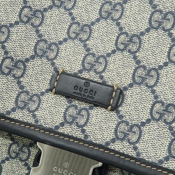 Gucci(구찌) 246898 GG로고 PVC 다크블루 트리밍 원 포켓 백팩 [강남본점] 이미지5 - 고이비토 중고명품