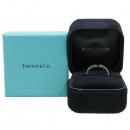 Tiffany(티파니) 18K (750) T 와이어 화이트 골드 반지 - 8호 [대구동성로점]