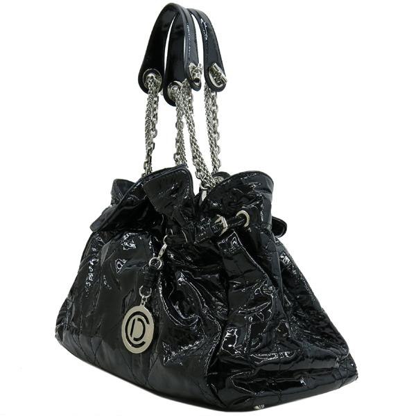 Dior(크리스챤디올) M0104RSR 블랙 페이던트 퀼팅 은장 체인 숄더백 [강남본점] 이미지3 - 고이비토 중고명품