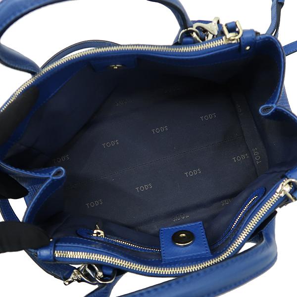 Tod's(토즈) 블루 컬러 레더 D스타일링 2WAY [강남본점] 이미지6 - 고이비토 중고명품