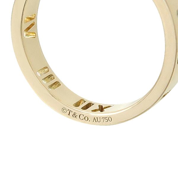Tiffany(티파니) 18K 옐로우 골드 아틀라스 피어스드 4포인트 다이아 반지 - 7호 이미지2 - 고이비토 중고명품