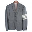 THOM BROWNE(톰브라운) MJC001A 00091 투 버튼 그레이 사선 남성용 자켓 [강남본점]