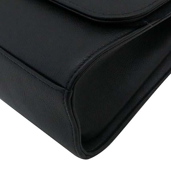 Chanel(샤넬) A93702Y61154  블랙 그레인드 카프스킨 핸들 플랩 2WAY [부산서면롯데점] 이미지5 - 고이비토 중고명품