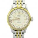 ORIS(오리스) 7400B 원형 라운드 콤비 오토매틱 시스루백 남녀공용 시계 [강남본점]