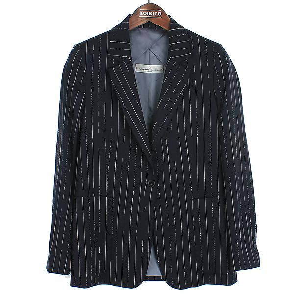 Golden Goose(골든구스) 네이비 컬러 스트라이프 패턴 남성용 블레이져 자켓 [강남본점]