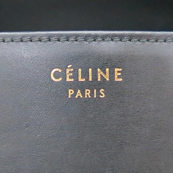 Celine(셀린느) AB022S 금장 블랙 레더 클래식박스 L사이즈 숄더백겸 크로스백 [부산센텀본점] 이미지3 - 고이비토 중고명품