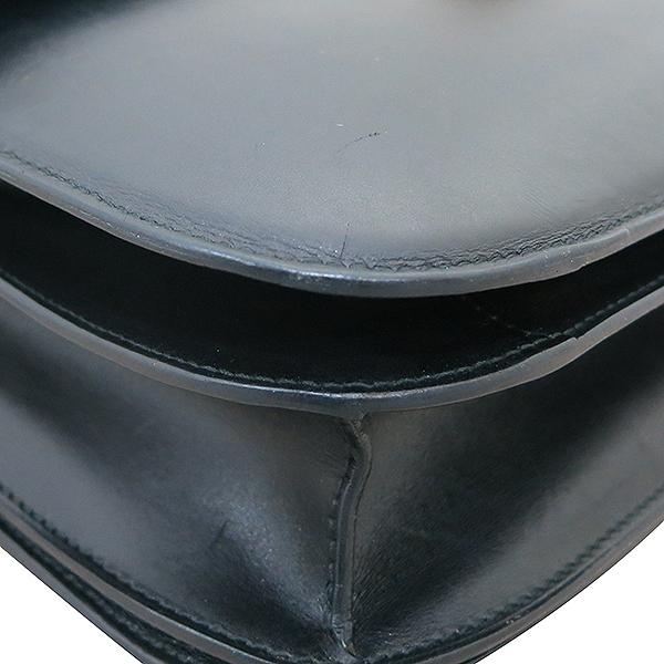 Celine(셀린느) AB022S 금장 블랙 레더 클래식박스 L사이즈 숄더백겸 크로스백 [부산센텀본점] 이미지5 - 고이비토 중고명품